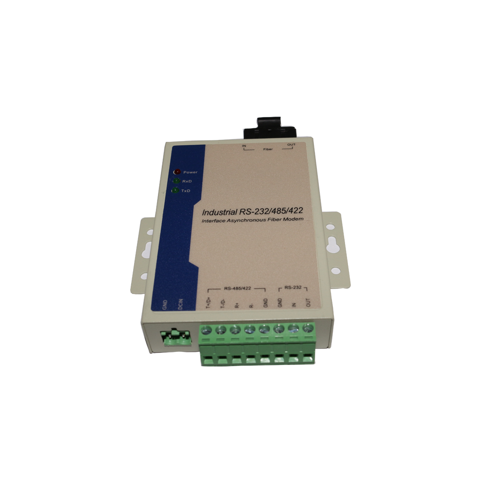 Media Converter Fiber To Ethernet Coaxial Serial Rs 232 485